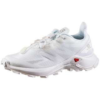 Salomon SUPERCROSS BLAST Trailrunning Schuhe Damen white-white-lunar rock