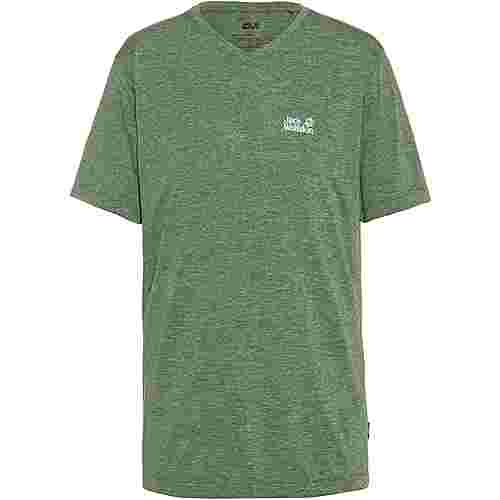 Jack Wolfskin Pack and Go JWP Funktionsshirt Herren sage