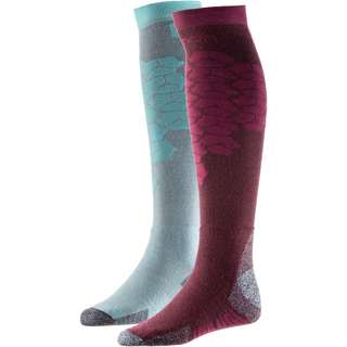 Salomon Merino S/ACCESS W 2-PACK Skisocken wintetasting/meadowbrook