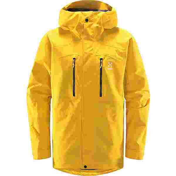 Haglöfs GORE-TEX Elation GTX Jacket Hardshelljacke Herren Pumpkin Yellow