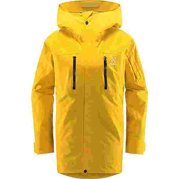 Haglöfs GORE-TEX Elation GTX Jacket Hardshelljacke Damen Pumpkin Yellow