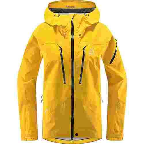 Haglöfs GORE-TEX® Spitz Jacket Hardshelljacke Damen Pumpkin Yellow