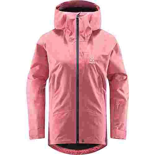 Haglöfs Lumi Jacket Hardshelljacke Damen Tulip Pink