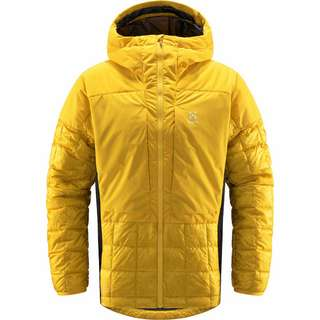 Haglöfs Nordic Mimic Hood Outdoorjacke Herren Pumpkin Yellow/True Black