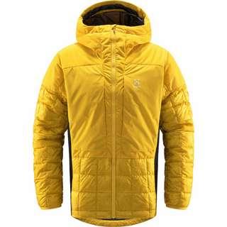 Haglöfs Nordic Mimic Hood Outdoorjacke Herren Pumpkin Yellow/True Black