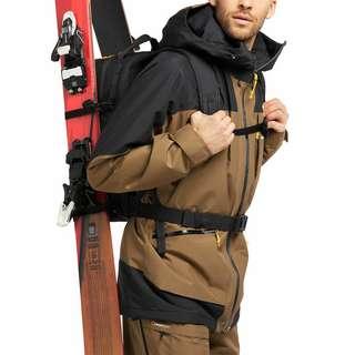 Haglöfs Lumi Insulated Jacket Hardshelljacke Herren Teak Brown/True Black