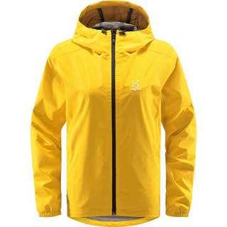 Haglöfs Buteo Jacket Hardshelljacke Damen Pumpkin Yellow