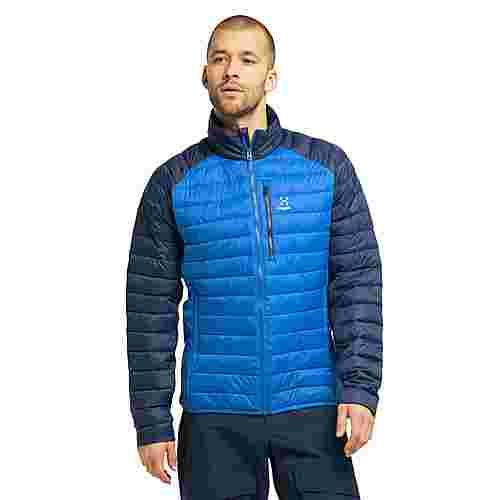 Haglöfs Spire Mimic Jacket Outdoorjacke Herren Storm Blue/Tarn Blue