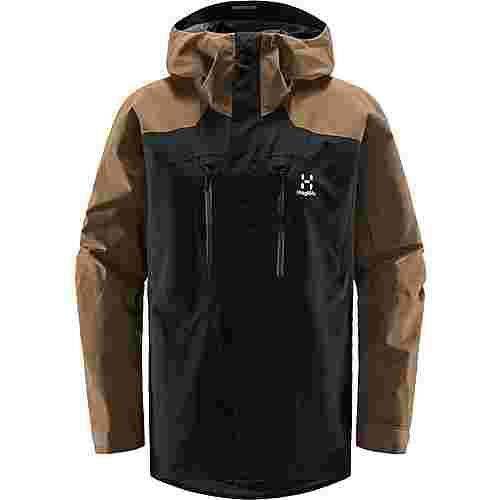 Haglöfs GORE-TEX® Elation GTX Jacket Hardshelljacke Herren True Black/Teak Brown