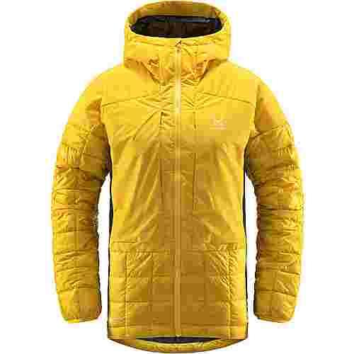 Haglöfs Nordic Mimic Hood Outdoorjacke Damen Pumpkin Yellow/True Black