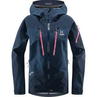 Haglöfs GORE-TEX Spitz Jacket Hardshelljacke Damen Tarn Blue