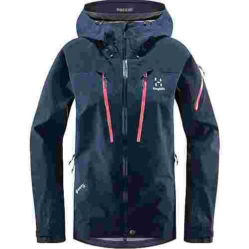 Haglöfs GORE-TEX® Spitz Jacket Hardshelljacke Damen Tarn Blue