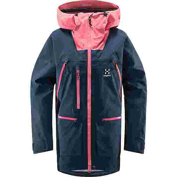 Haglöfs GORE-TEX Vassi GTX Pro Jacket Hardshelljacke Damen Tarn Blue/Tulip Pink