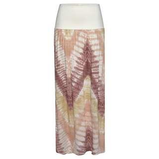 Lascana Maxirock Damen batik-bedruckt