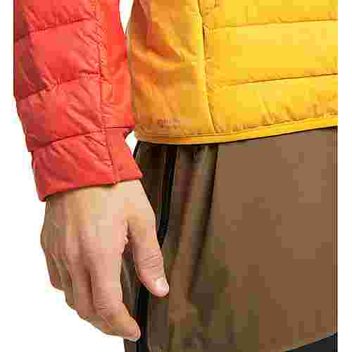 Haglöfs Spire Mimic Jacket Outdoorjacke Herren Pumpkin Yellow/Habanero