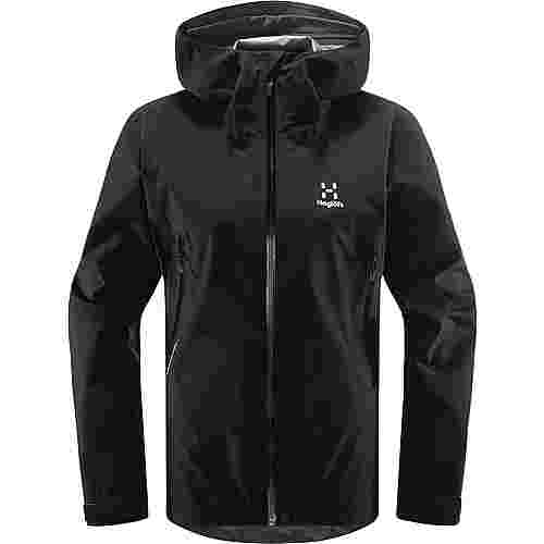 Haglöfs GORE-TEX® Roc GTX Jacket Hardshelljacke Damen True Black