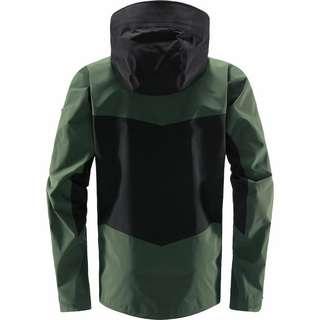 Haglöfs GORE-TEX® Spitz Jacket Hardshelljacke Herren True Black/Fjell Green