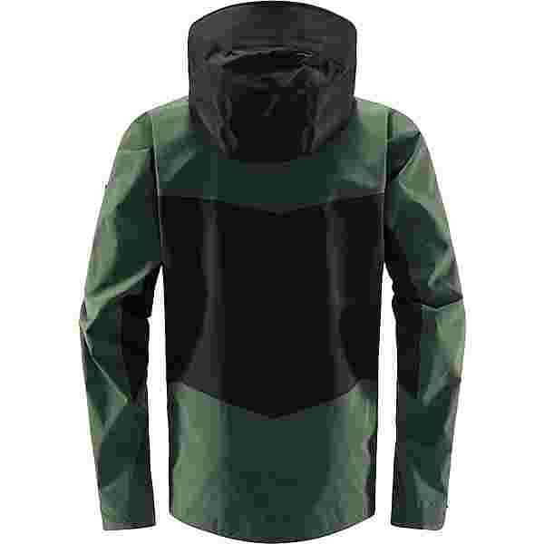 Haglöfs GORE-TEX Spitz Jacket Hardshelljacke Herren True Black/Fjell Green