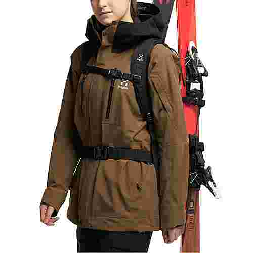 Haglöfs GORE-TEX® Elation GTX Jacket Hardshelljacke Damen Teak Brown/True Black