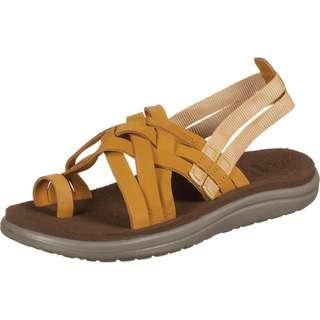 Teva Voya Leather Sandalen Damen gelb