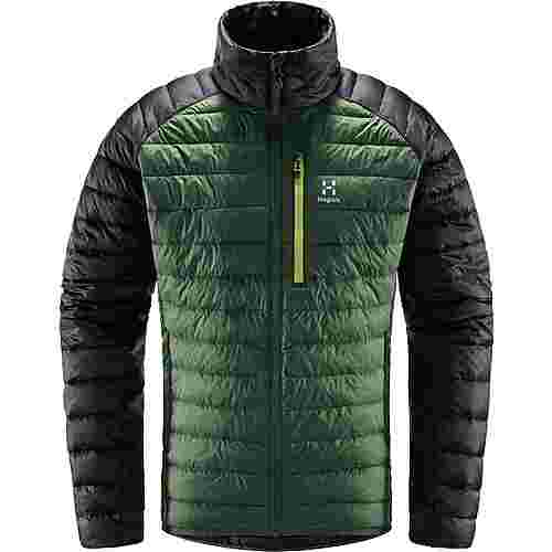 Haglöfs Spire Mimic Jacket Outdoorjacke Herren Fjell Green/True Black