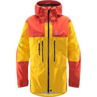 Haglöfs GORE-TEX Roc Nordic GTX Pro Jacket Hardshelljacke Herren Pumpkin Yellow/Habanero