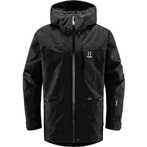 Haglöfs Lumi Insulated Jacket Hardshelljacke Herren True Black