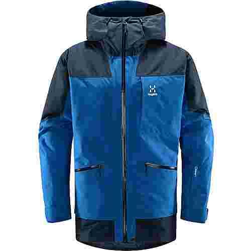 Haglöfs Lumi Insulated Jacket Hardshelljacke Herren Storm Blue/Tarn Blue