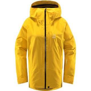 Haglöfs Lumi Jacket Hardshelljacke Damen Pumpkin Yellow