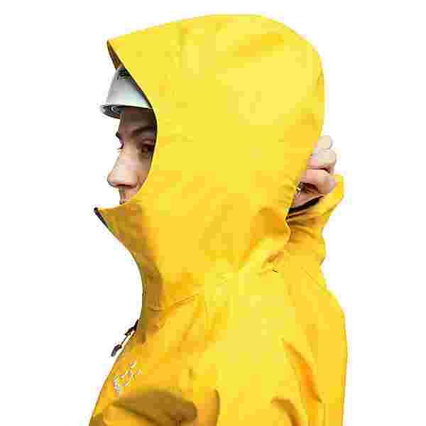 Haglöfs GORE-TEX Roc GTX Jacket Hardshelljacke Damen Pumpkin Yellow