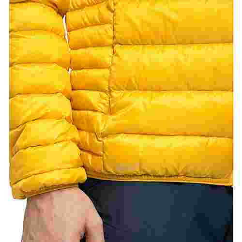 Haglöfs Roc Down Hood Outdoorjacke Herren Pumpkin Yellow
