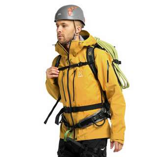 Haglöfs GORE-TEX Spitz Jacket Hardshelljacke Herren Pumpkin Yellow