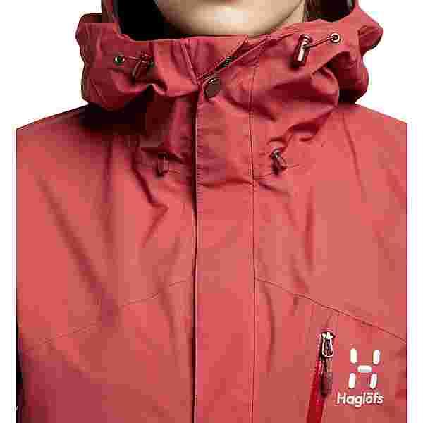 Haglöfs GORE-TEX Astral GTX Jacket Hardshelljacke Damen Brick Red