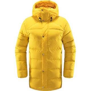 Haglöfs Näs Down Jacket Outdoorjacke Damen Pumpkin Yellow