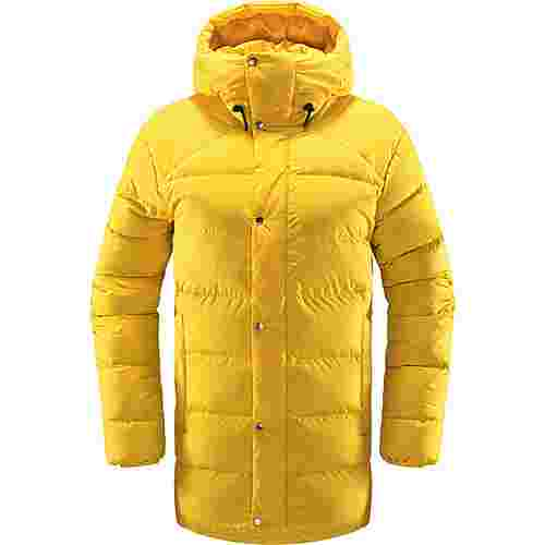 Haglöfs Näs Down Jacket Outdoorjacke Damen Pumpkin Yellow