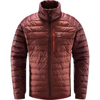 Haglöfs Spire Mimic Jacket Outdoorjacke Herren Maroon Red