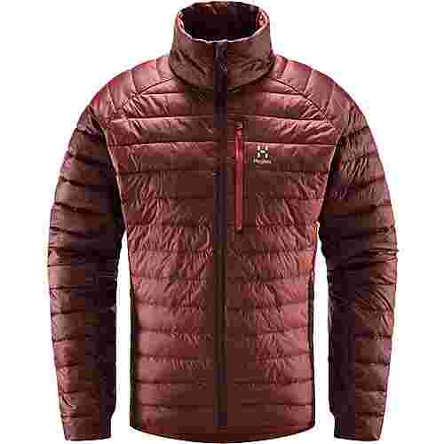 Haglöfs Spire Mimic Jacket Outdoorjacke Herren Maroon Red