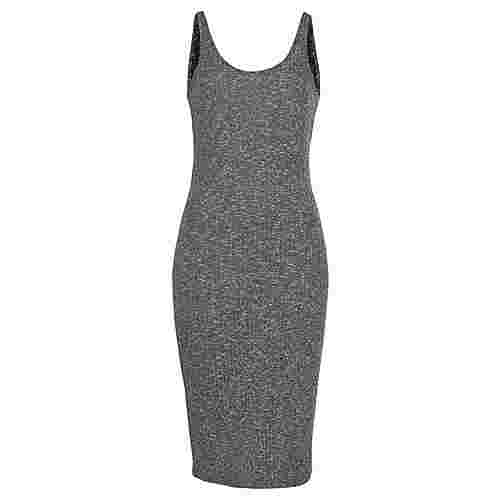 Buffalo Strickkleid Damen grau-meliert