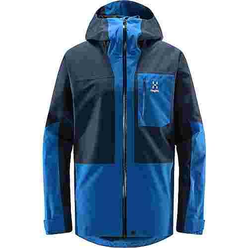 Haglöfs Lumi Jacket Hardshelljacke Herren Tarn Blue/Storm Blue