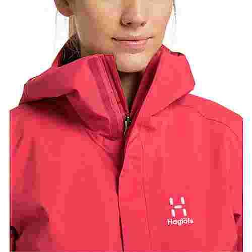 Haglöfs Tjärn Jacket Hardshelljacke Damen Hibiscus Red