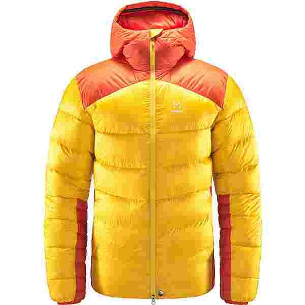 Haglöfs Mojo Down Hood Outdoorjacke Herren Pumpkin Yellow/Habanero