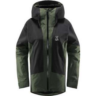Haglöfs Lumi Jacket Hardshelljacke Damen Fjell Green/True Black
