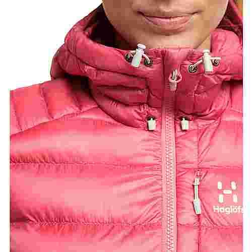 Haglöfs Roc Down Hood Outdoorjacke Damen Tulip Pink
