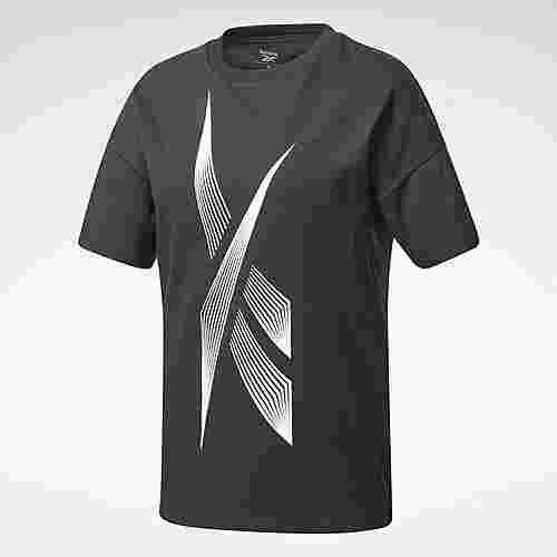 Reebok Vector Graphic T-Shirt T-Shirt Damen Schwarz