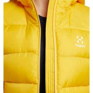 Haglöfs Bield Down Hood Outdoorjacke Damen Pumpkin Yellow