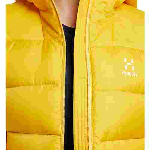 Haglöfs Bield Down Hood Outdoorjacke Damen Pumpkin Yellow