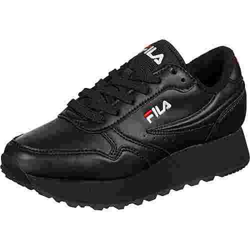 FILA Orbit Zeppa L Sneaker Damen schwarz
