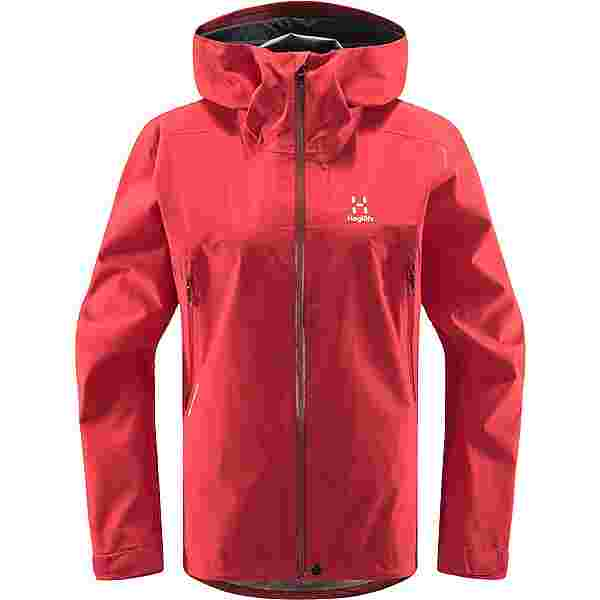 Haglöfs GORE-TEX Roc GTX Jacket Hardshelljacke Damen Hibiscus Red