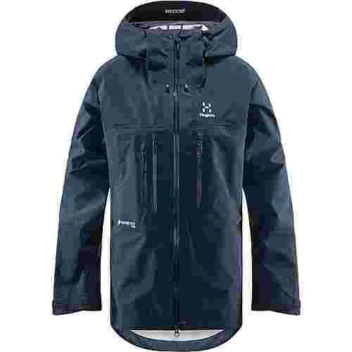 Haglöfs GORE-TEX® Roc Nordic GTX Pro Jacket Hardshelljacke Damen Tarn Blue