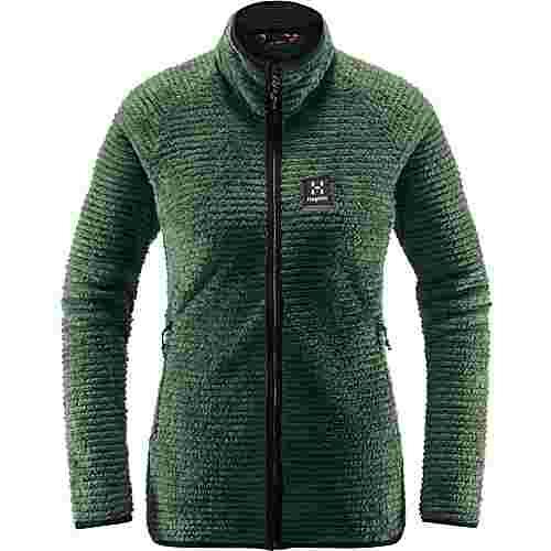 Haglöfs Sensum Jacket Fleecejacke Damen Fjell Green